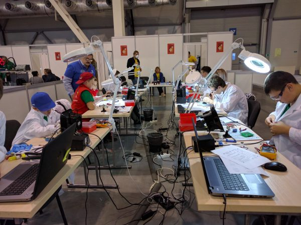 Электроника JuniorSkills WorldSkills Hi-Tech Junior 2016