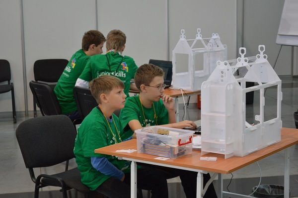 Компетенция Интернет вещей. WorldSkills Hi-Tech Junior 2016