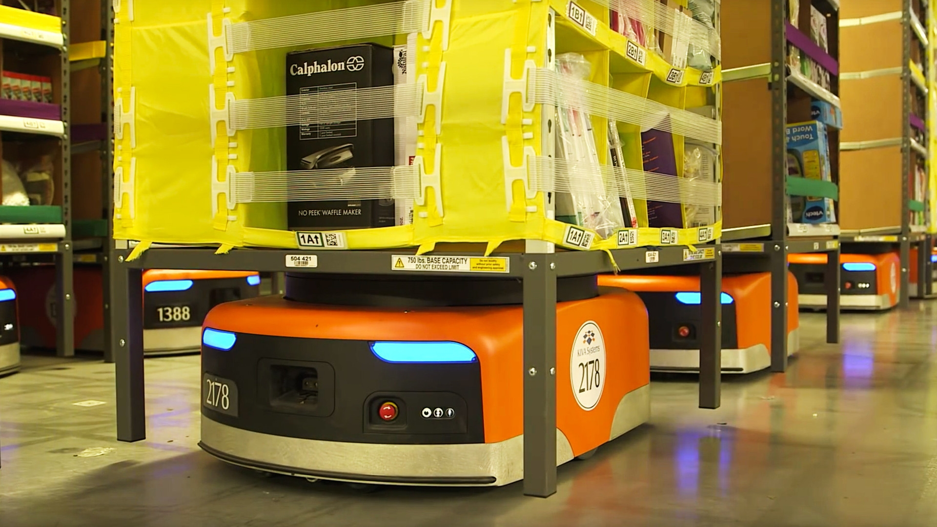 amazon robots As amazon gears up for cyber monday and the busy holiday shopping season, it's getting help from thousands of robots that search through millions of items to ensure the right item gets.