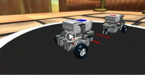 Симулятор Virtual Robotics Toolkit